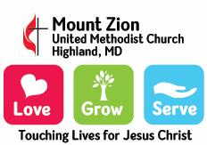 Mount Zion United Methodist Church July 2017 Edition Our Mission Touching Lives for Jesus Christ Our Core Values To be a Loving Christian Community.