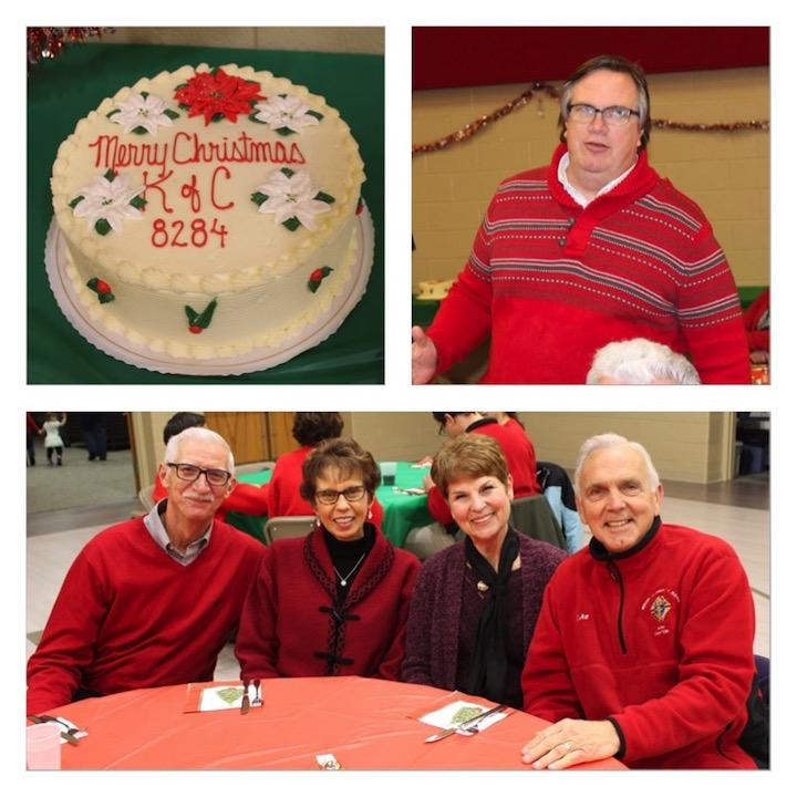 Kern Council Christmas party - Msgr Kern Council enjoyed a wonderful family Christmas