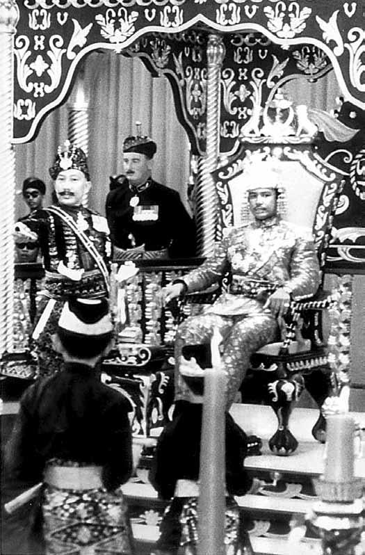 36. Coronation of HM Sultan Haji Hassanal