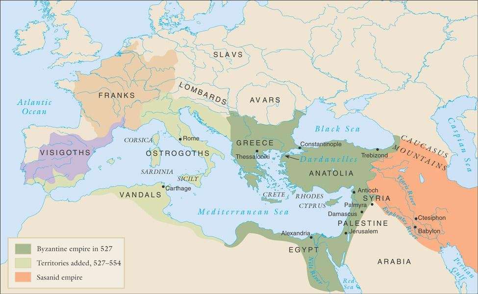 The Byzantine empire and