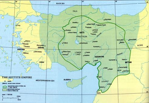 BCE Huge peninsula with plentiful resources Capital city Hattusas Peace treaties with Egypt