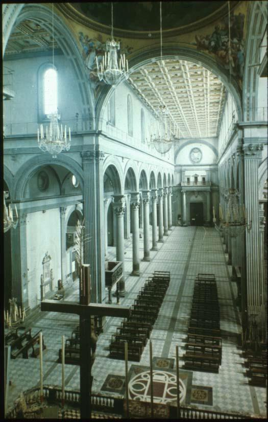 Nave of the Church of San
