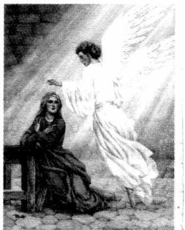 THE JOYFUL MYSTERIES The Joyful Mysteries can be said on Monday and Saturday and during Advent and the Christmas season 1st Joyful Mystery: The Annunciation of Our Lord The angel said to Mary, You