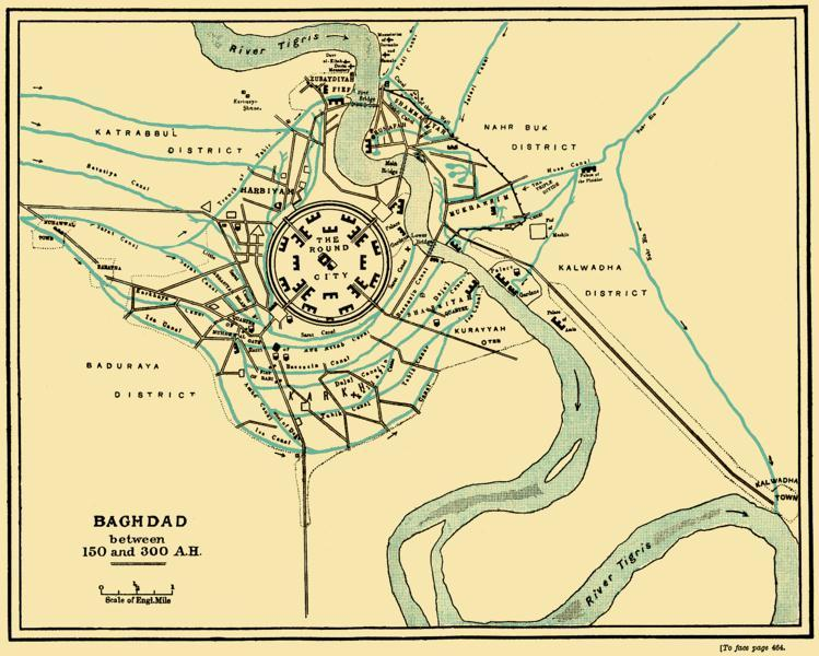 The Round city of Baghdad : Known