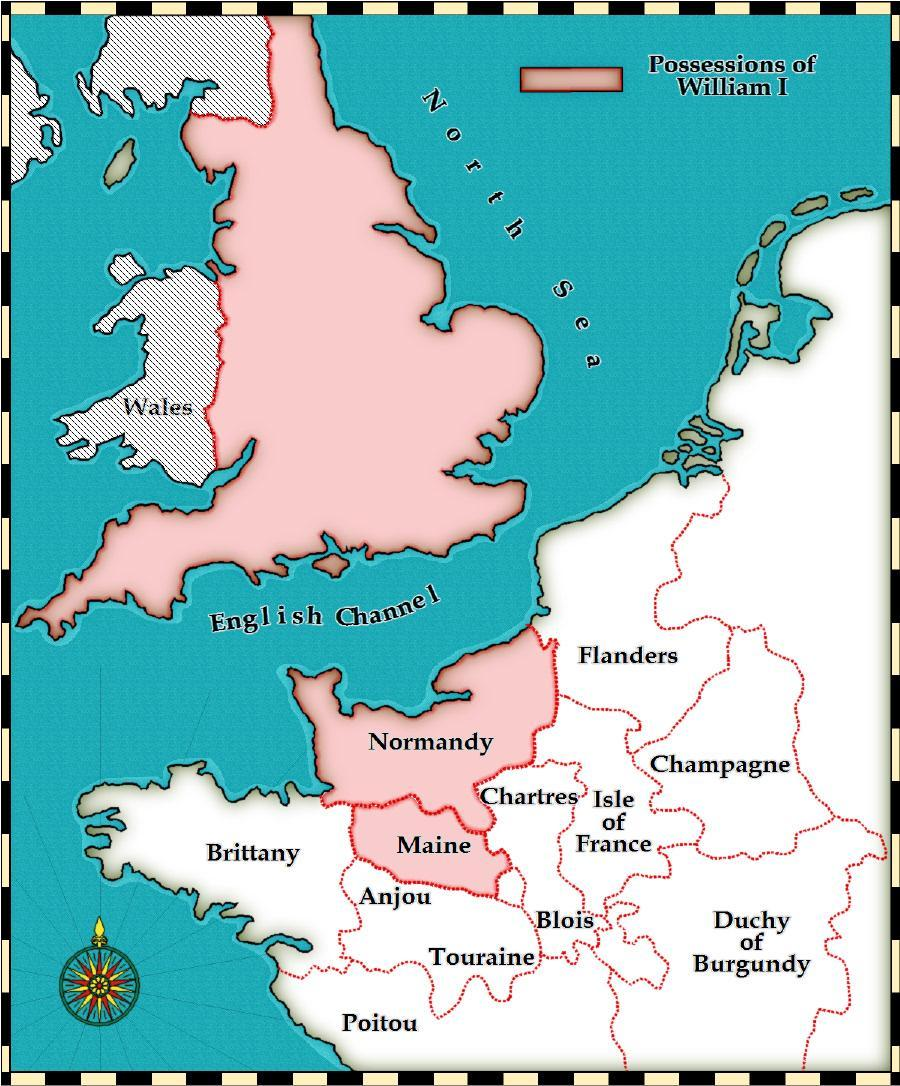 Saxons and Normans in England after 1066?