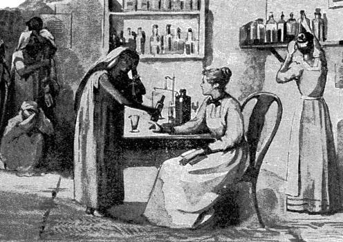 David Hardiman Figure 1.5 Attending female out-patients in an Indian hospital. The Church Missionary Gleaner, July 1892, p.101. heathen women. From this developed the theory of Woman s Work for Woman.