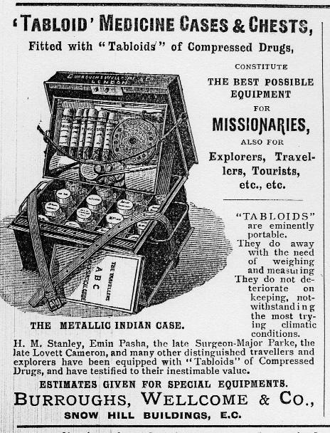 Introduction Figure 1.8 Advertisement insert in Medical Missions at Home and Abroad, October 1895, p.32.