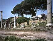 The history of Ostia date back to the 4th century BC.