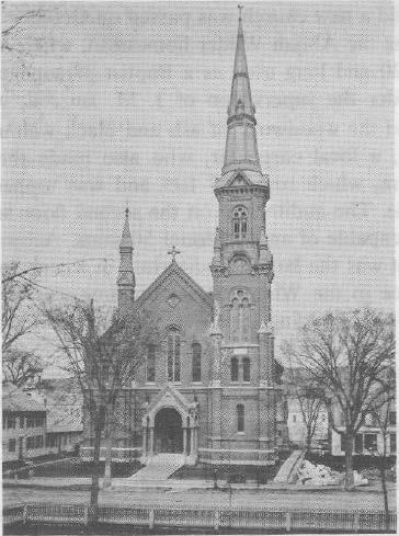 Baptist Church Building erected 1874, demolished 1968 During the pastorate of Rev.
