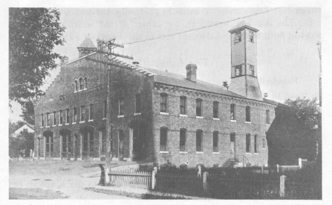 Fire Station, Vernon Street for horses of the City Highway Department were located.