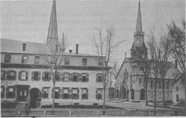 During Rev. Pike's rectorship, 1953-59, the parish purchased the Nims Plumbing building on St. James Street. The property was renovated and for several years was used for church school classes.
