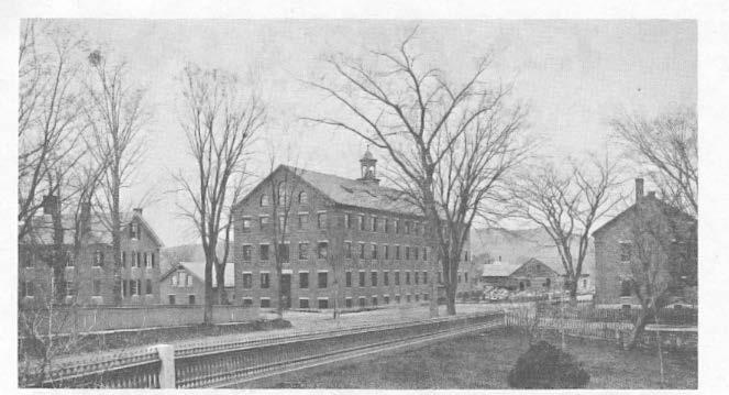 Faulkner & Colony's Woolen Factory The first mills in South Keene were established about 1820 by Aaron Davis, a blacksmith who built a forge and iron foundry and proceeded to manufacture agricultural