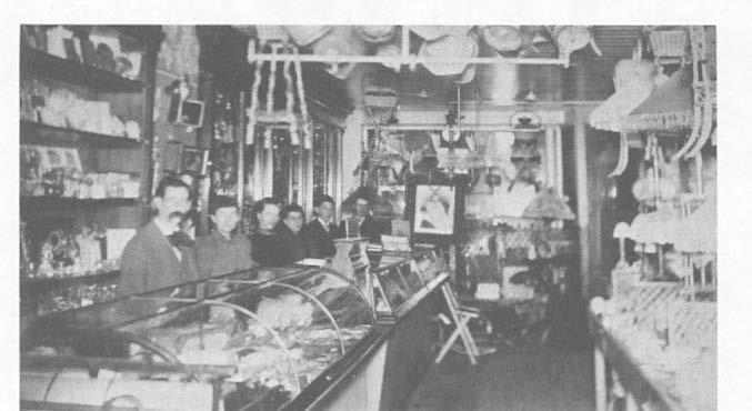 Gilmore's Store circa 1892 plant as new quarters for his manufacture of wooden pails, a firm he had established in Swanzey in 1889.