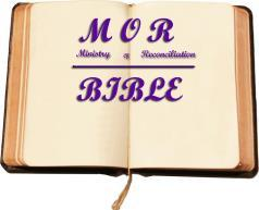"Ministry of Reconciliation (MOR) Bible Teachings September 2017 In the August teaching, we focused on God's Word as our refuge and strength and defined our ""Standing,"" ""State"" and ""Fellowship."