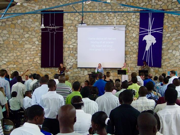 What is Quisqueya Chapel? An international, interdenominational, evangelical church ministering in the English language in Port-au-Prince, Haiti.