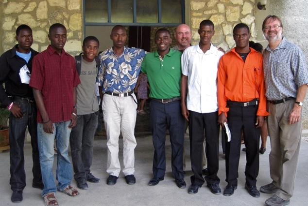 advancing the Kingdom of God in Haiti and around the world. 1. Servant leadership.
