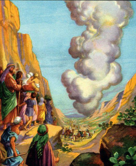 With the initial instructions given to all the people, one more detail weighed heavily on Moses and it concerned the bones of Joseph.