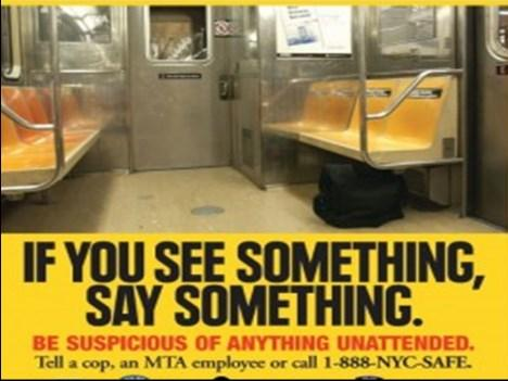 Those posters were everywhere they were in the subways, they were in public areas all over the place.