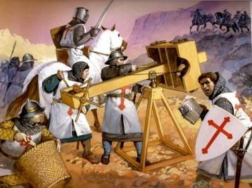 Crusades In 1095, Pope Urban II called on all Christians in Europe to unite and fight a holy war to