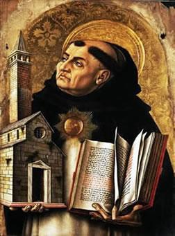 Thomas Aquinas A great Christian thinker who had great influence on the Middle Ages. His most famous book, Summa Theologica, provided a summary of Christian beliefs.