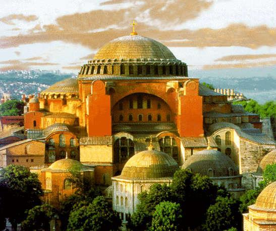 Hagia Sophia Built by the Byzantines with its