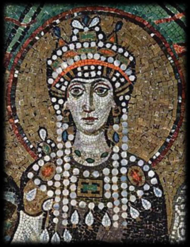Theodora Strong-willed wife of Emperor Justinian who