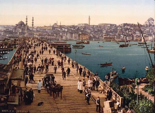 Constantinople The city of Constantinople lay at the heart of a powerful Byzantium Empire.