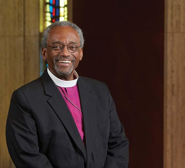The Presiding Bishop s Style The visual identity of the Presiding Bishop s Office balances the dignity and gravity of the Office and the joy and vivacity that characterize his demeanor.