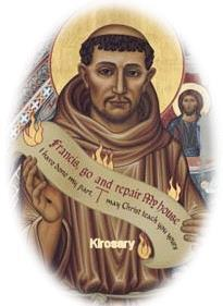 St. Francis of Assisi Novena Story of the Franciscan Crown The story of the Rosary of the Seven Joys of the Blessed Virgin dates back to the early 15th century.