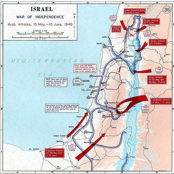 FIRST ARAB-ISRAELI WAR: War of Independence PRIMARY CAUSES OF CONF
