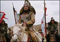the Mongol armies that invaded Europe in
