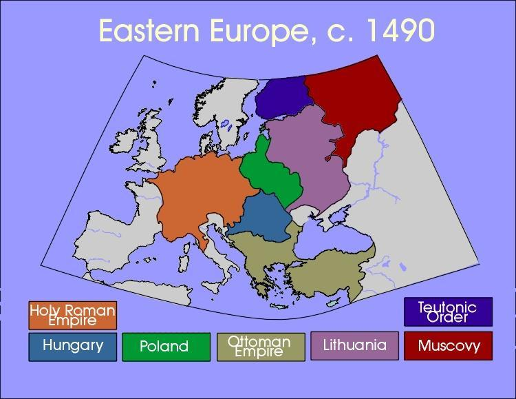 The Shaping of Eastern Europe Geography affects its development goods & cultural influences travel along the region s rivers Lies between Germanic Central Europe &