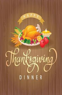 Church Thanksgiving Covered Dish Dinner ~Sunday November 12,2017~ Following morning worship The church will provide Turkey, dressing, mashed potatoes & bread