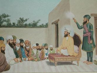 One day, Sikhs requested Baba Budha Ji to reveal the Guru to them. Baba Budha Ji took the Sikhs with him to Khadur Sahib. He went straight to Mata Sabhrai Ji house.