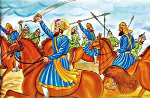 Attack and siege of Anandpur The fantastic rise of the Khalsa disturbed the Rajas of the adjoining regions.