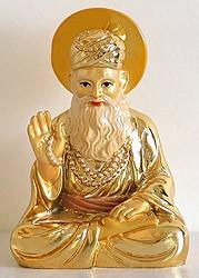 Guru Nanak Dev Ji (1469-1539) Buy this Statue The first Sikh Master and the founder of Sikhism, Guru Nanak, was born in 1469 and lived till 1539.