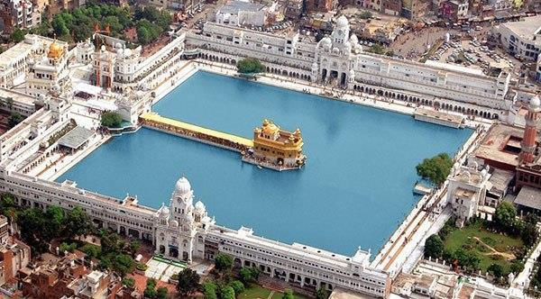 Eden. In the heart of the city, surrounding the Golden Temple, is the spring of the water of life, bright as crystal and producing ripples that seem to flow through the hearts of everyone who visits