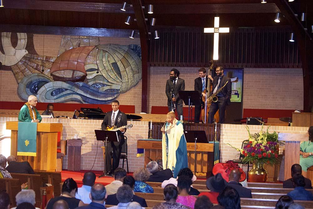WealsohaveJazzVespershereattheChurchwhichisinits15 th year.thistakesplaceinthesanctuary ever1 st Saturday,fromOctoberthroughJune.