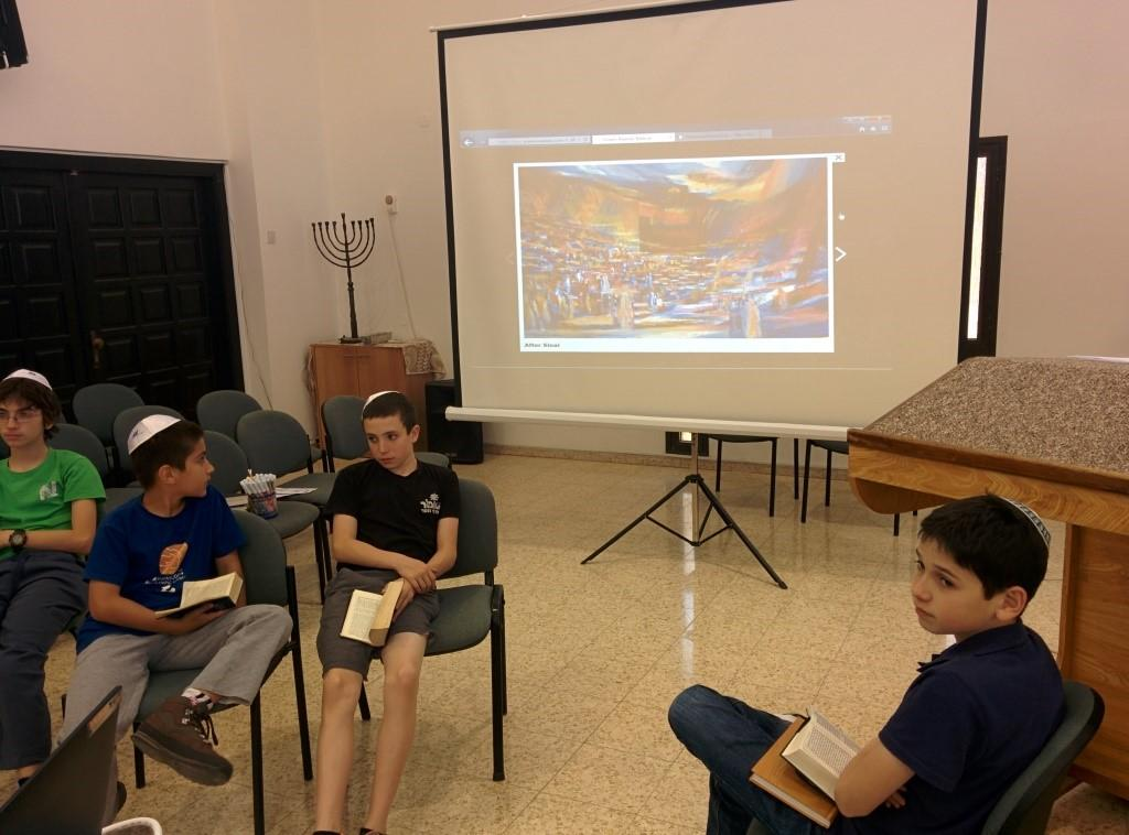 Bibliodrama at Yula Bibliodrama is the art of bringing alive the Torah in the form of acting.