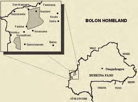 People and Language Detail Report Profile Year: 1996 Language Name: Bolon ISO Language Code: bof Primary Religion: Animism The Bolon of The Bolon live in western in a land of savannah, small forests,