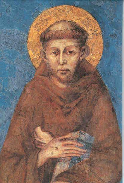 Francis (1182-1226) of Assisi He sold his property, gave the