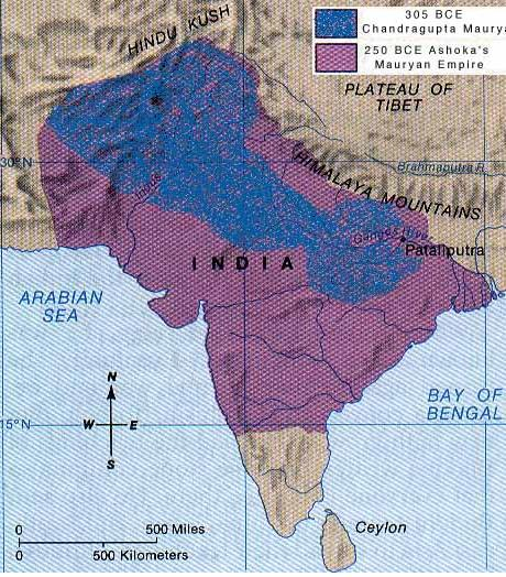 manageable districts Asoka helped India prosper by brokering trade from East to West