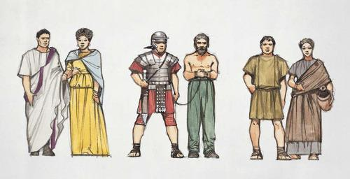 Two political groups: Patricians (aristocrats) Plebeians (middle/lower class) Both could