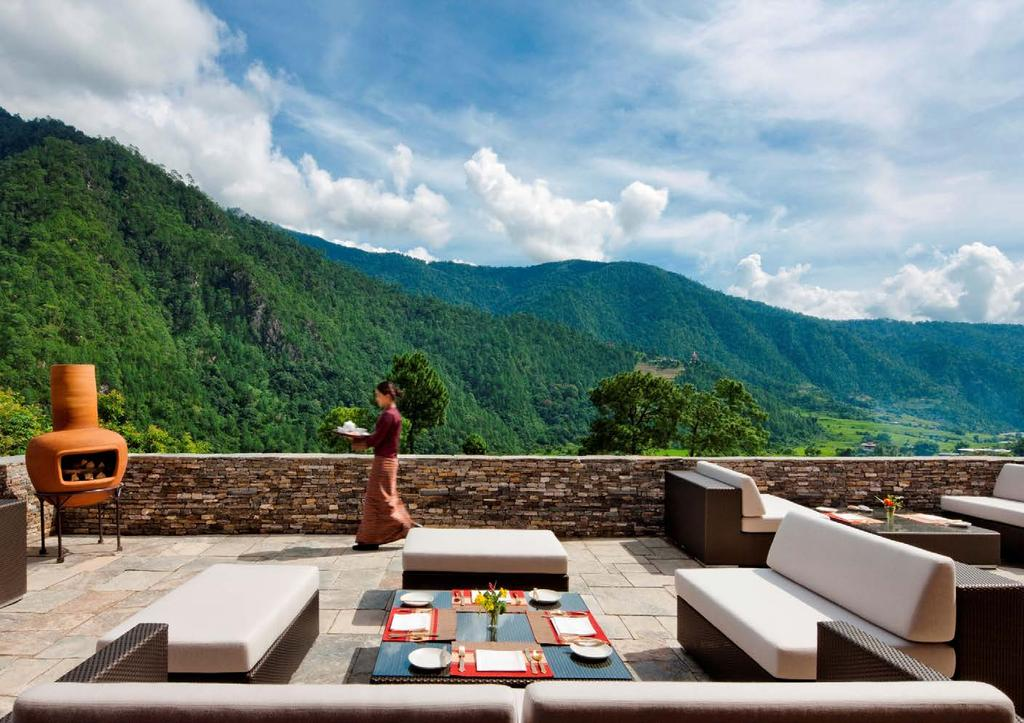 APRIL Bhutan India The Maldives Indonesia Laos Cambodia Thailand Burma Sri Lanka Nepal China Japan Uma Punakha, Bhutan Beyond the Sky, Uma Punakha and Uma Paro: A Luxury Tailor-made Tour of Bhutan An