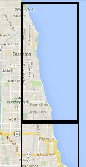 Evanston and Lake View Townships, 1857 NU Today Evanston Township, 1857 Ridgeville split into Evanston and Lake View Townships at Devon Avenue Northwestern University chartered in 1851, and