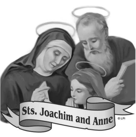 In July 2016, we placed our parish in the prayerful hands of Saints Joachim and Anne.