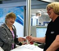 Recognise and Acknowledge Treat all staff and customers in a courteous, friendly manner.