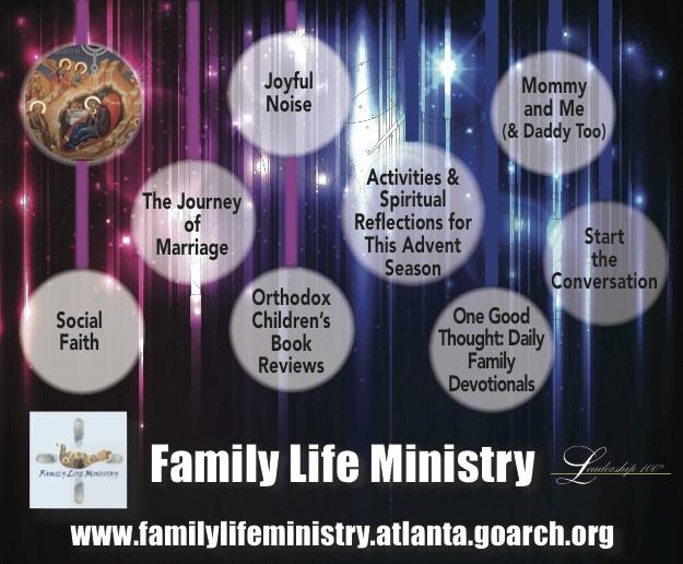 Helping Orthodox families live Christ-centered lives with updated blogs, family retreats, and teaching materials.