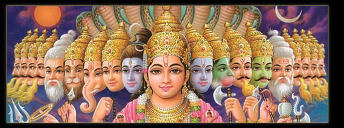 Gods: there are many Hinduism
