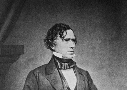 Franklin Pierce Franklin Pierce, the 14th President of the United States, was born on November 23, 1804, in Hillsborough, New Hampshire.
